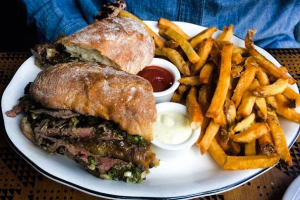 Steak Sandwich - delivery menu