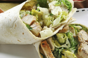 #4. Grilled Chicken Caesar Wrap Lunch - delivery menu