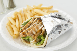 Chicken Caesar Pita - delivery menu