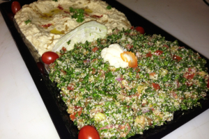 Tabouleh Platter - delivery menu