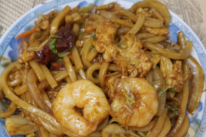 61. Shrimp Yaki Udon - delivery menu