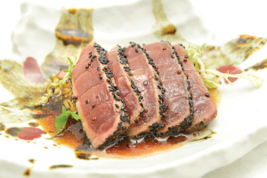 Black Sesame Tuna - delivery menu