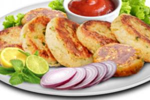 2 Pieces Aloo Tikki - delivery menu