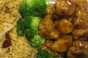 17. General Tso's Chicken Dinner Special  - delivery menu