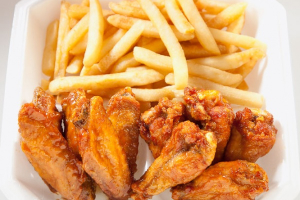 Chicken Wings & Fries - delivery menu