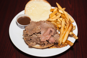 Roast Beef Combo - delivery menu