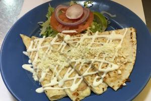 Quesadilla con Queso - delivery menu