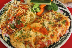 Chicken Parmigiana - delivery menu
