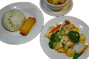 L10. Chicken with Mixed Vegetables Lunch Special - delivery menu