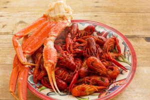 1. 1 lb. Louisiana Crawfish - delivery menu
