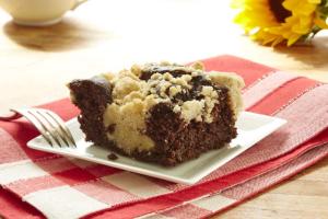 CHOCOLATE CRUMB CAKE - delivery menu
