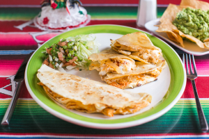Tinga de Pollo Quesadillas - delivery menu