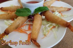Goong Kra Bok - delivery menu