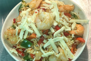Shrimp Fajita Bowl - delivery menu