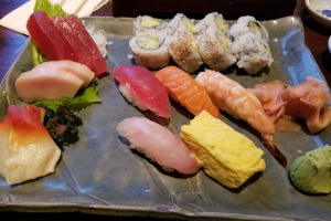 Sushi and Sashimi Combo (Lunch Only) - delivery menu