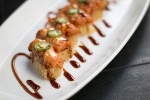 Lunch Crispy Rice Sushi Roll - delivery menu