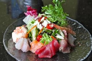 Sashimi Salad - delivery menu