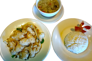 L31. Flied Calamari with Spicy Salt Lunch Special - delivery menu