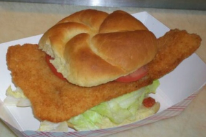 Fried Flounder Filet - delivery menu