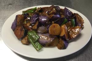 75. Szechuan Eggplant - delivery menu