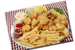 Medium Shrimp Dinner - delivery menu