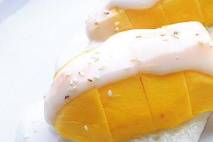 Thai Sweet Mango & Sticky Rice - delivery menu