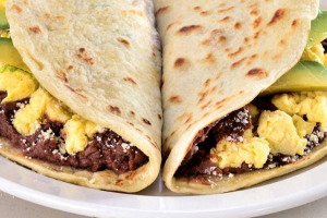 Baleadas with Meat - delivery menu
