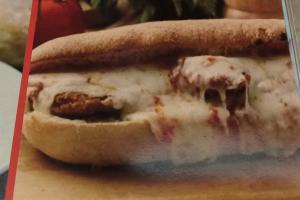 Chicken Parmigiana Hero - delivery menu