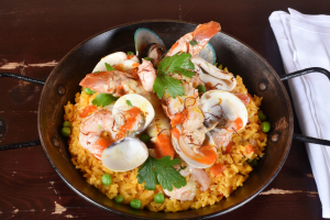 Paella Cubana - delivery menu