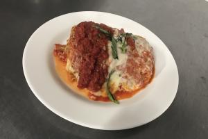 Homemade Meat Lasagna - delivery menu