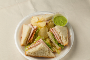 64. Turkey Club - delivery menu