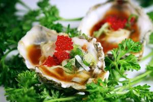 Kumamoto Oyster - delivery menu