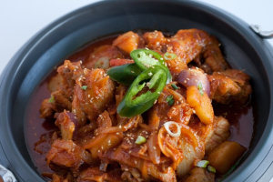 Spicy Chicken Stew Tray - delivery menu