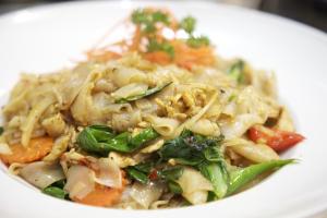 74. Pad Kee-Mao Noodles - delivery menu
