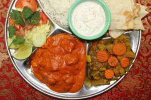 6 Course Thali Lunch - delivery menu