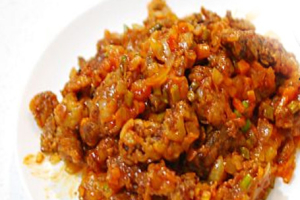 Beef Kkanpunggi - delivery menu