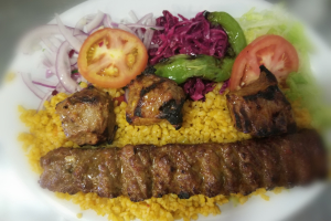 Lamb Shish and Lamb Adana Combination - delivery menu