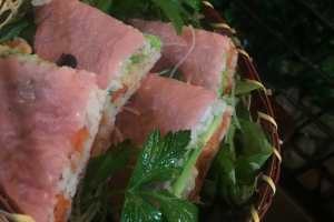 Pink sandwich - delivery menu