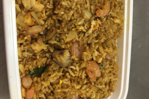 210. Red Curry Fried Rice - delivery menu