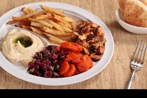 Shawarma Platter - delivery menu