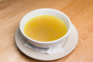1 Quart Chicken Consomme Soup - delivery menu