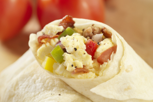#1. Terri's Ultimate Wrap Breakfast - delivery menu