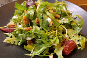Roasted Beets and Goat Cheese Salad - delivery menu