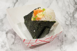 Poke Salmon Onigiri - delivery menu