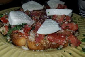 Bruschetta with Fresh Mozzarella - delivery menu
