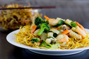 Seafood Pan Fried Noodle - delivery menu