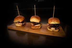 Smoked Pork Belly Slider - delivery menu