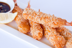 Crispy Fried Shrimp 새우튀김 - delivery menu