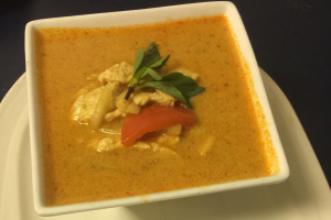 2. Red Curry Lunch - delivery menu