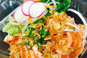 Salmon Tataki - delivery menu